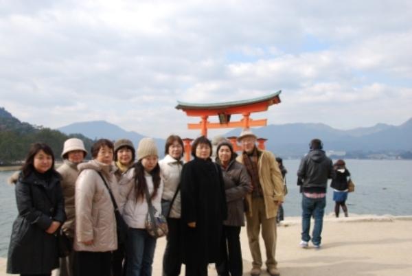 灰干さんまや・宮島厳島神社